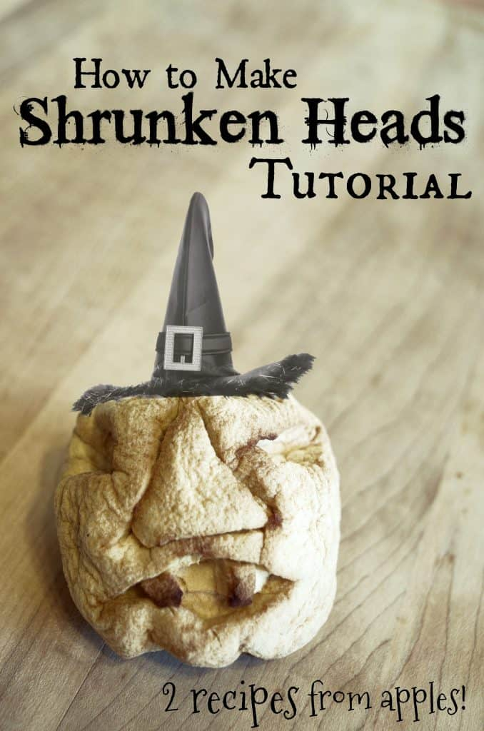 How to Make Shrunken Heads Tutorial Halloween & Harry Potter parties
