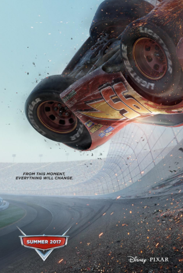 Disney Pixar Cars 3 Movie Poster Trailer