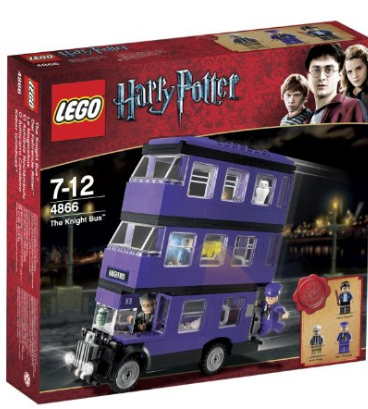 Harry Potter LEGO Knights Bus building set