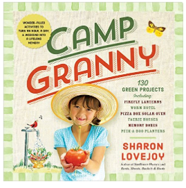 Camp Granny gardening book for kids