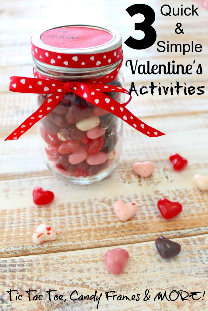 3 Quick & Easy Simple Valentine's Day Activities for Kids