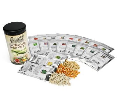 Heirloom GMO free Garden Seed Vault