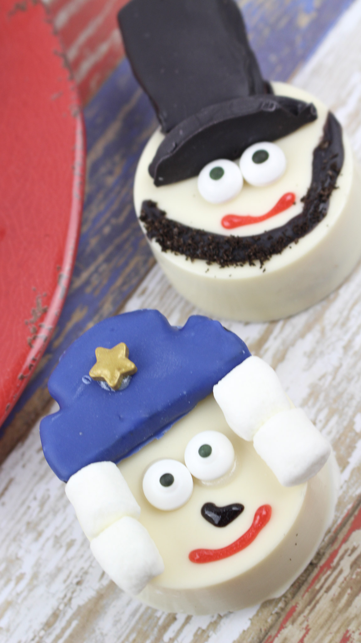 President's Day Cookies for Kids - George Washington & Abraham Lincoln