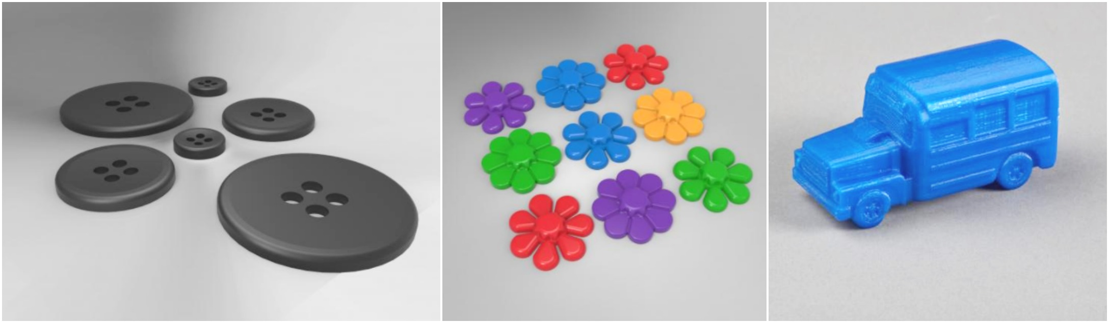 Classroom Manipulatives & Sensory Bins 3D Printing Models