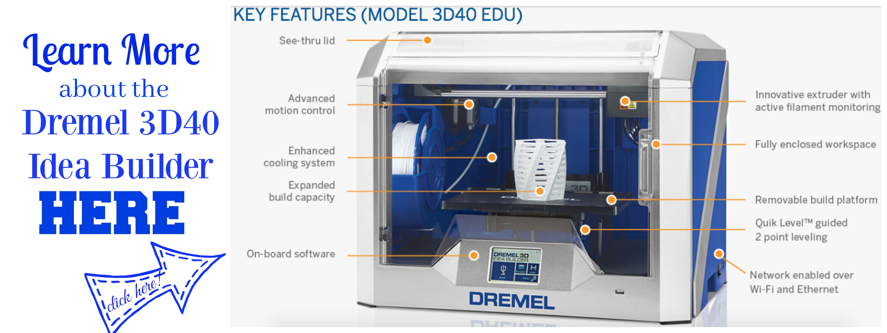 Dremel 3D40 Idea Builder information details