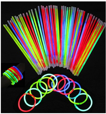 buy 100 pack glow sticks in bulk
