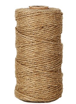 brown twine wrap