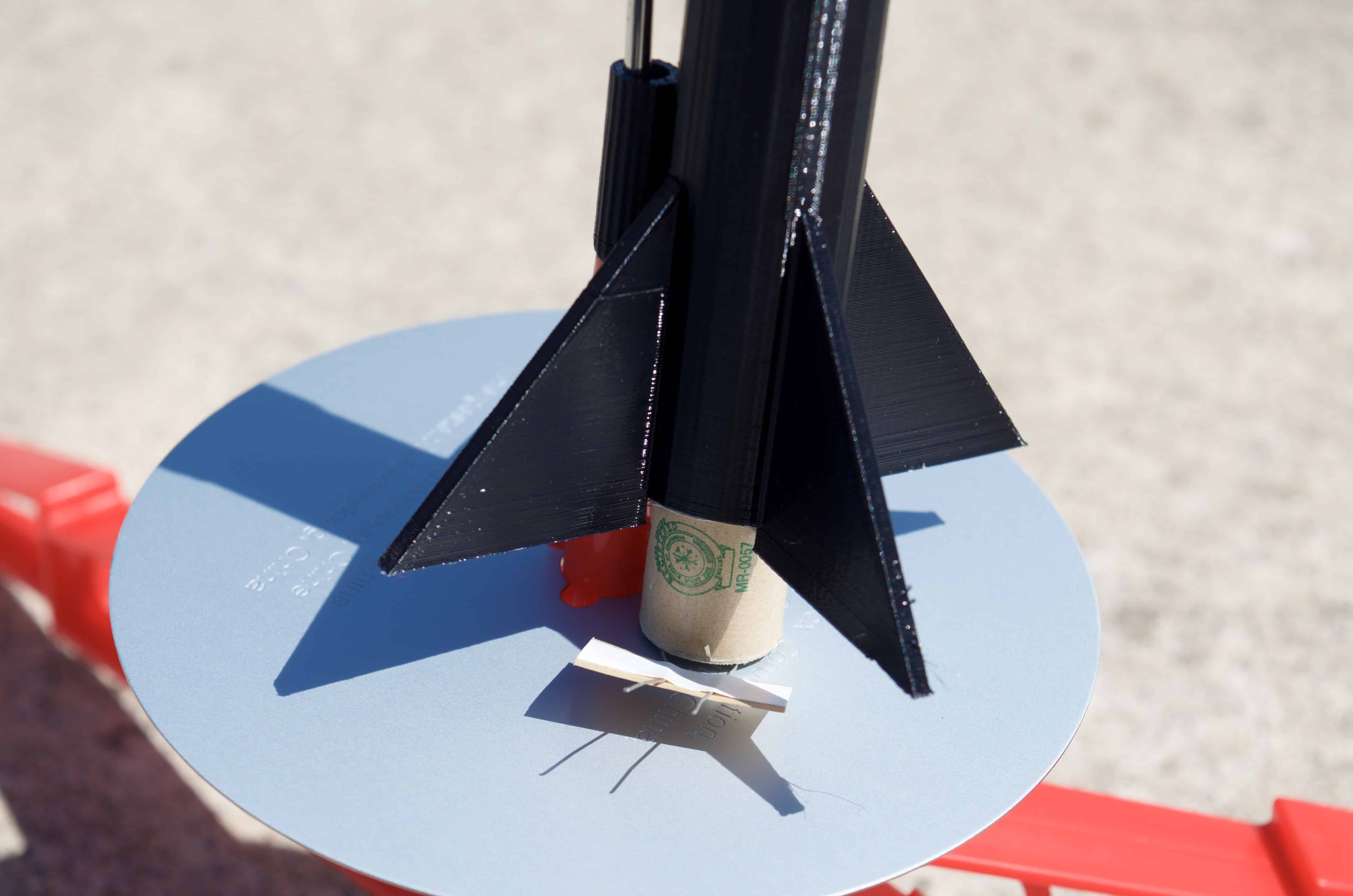 Launching a 3D Printed Rocket