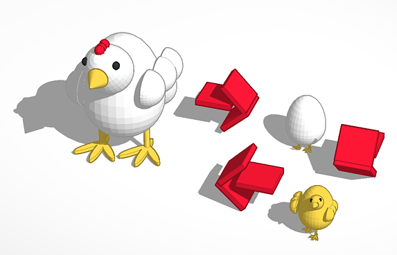 Chicken Life Cycle 3D Printer
