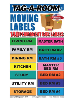 Moving Labels for Boxes