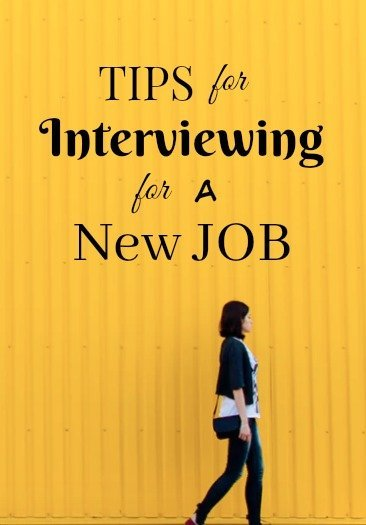 Tips for Interviewing for a New Job