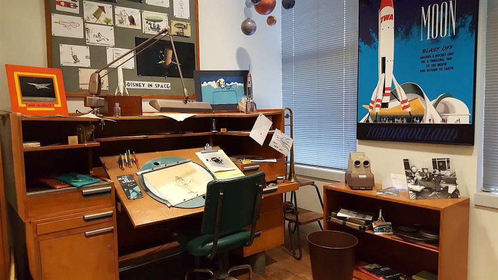 Animators Desk Photo Tour of the Walt Disney Studios Archives