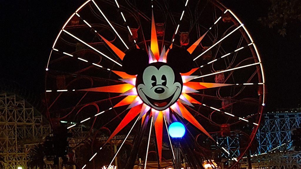 Mickey Mouse Ferris Wheel at Disneyland