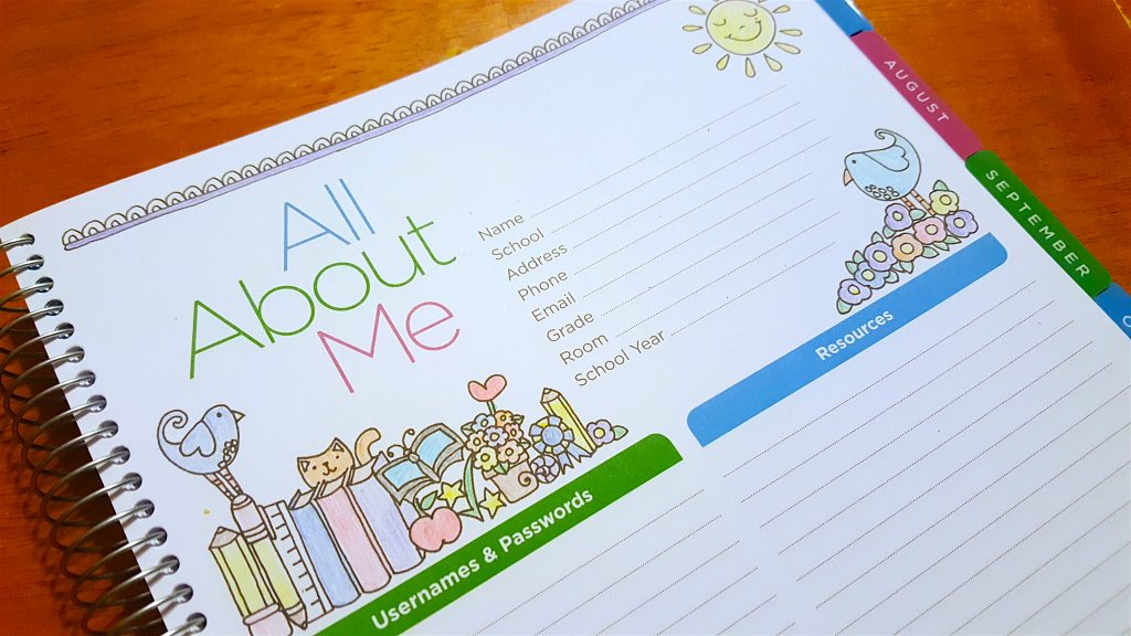Scholastic Teacher Coloring Planner for School