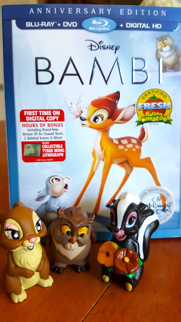 Disney's Bambi on Bluray - Special Bonus Features out of the Vault