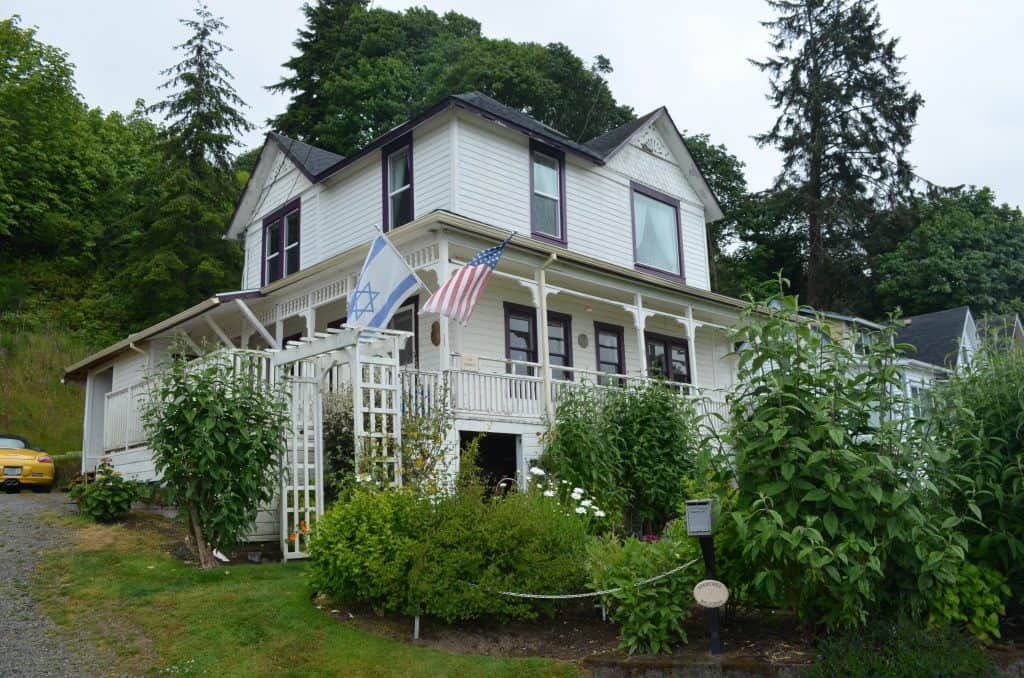 white house from Goonies movie