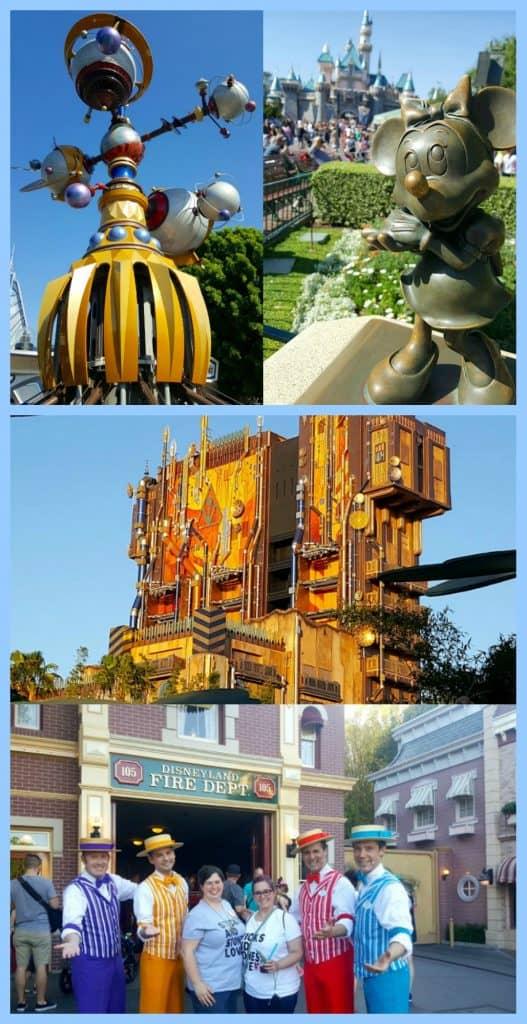 Disneyland Collages