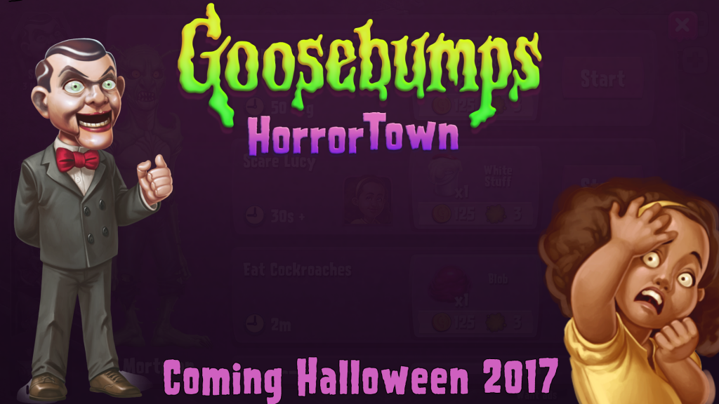 NEW R.L. Stine Goosebumps App Coming!