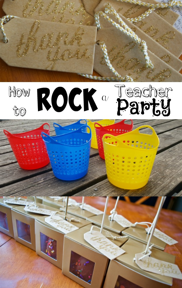 How to Rock a Teacher Party