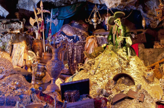 The History of the Pirates of the Caribbean Theme Park Ride