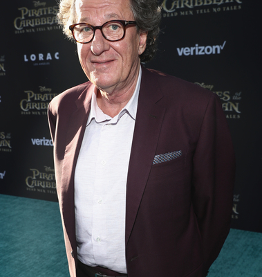 Geoffrey Rush Pirates of the Caribbean premiere