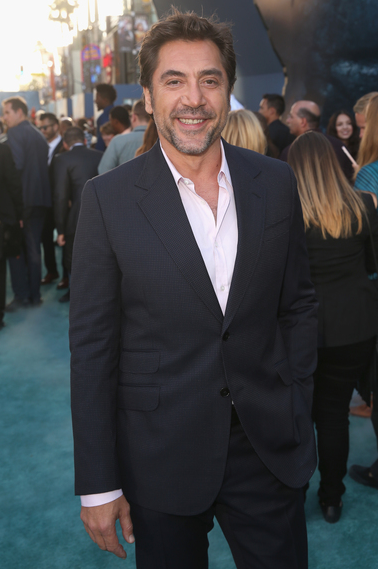 Javier Bardem at the Pirates of the Caribbean: Dead Men Tell No Tales Premiere