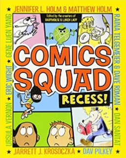 Comics Squad Books