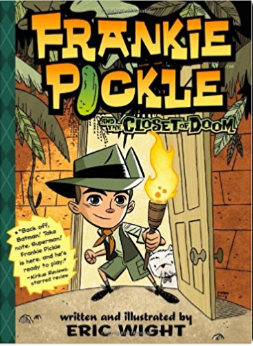 Frankie Pickle Comic Book for Kids
