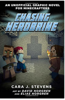 Chasing Herobrine Unofficial Minecraft graphic novel for kids