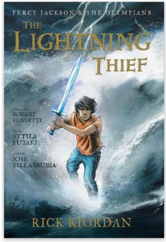 Percy Jackson The Lightning Thief Graphic Novel for Kids