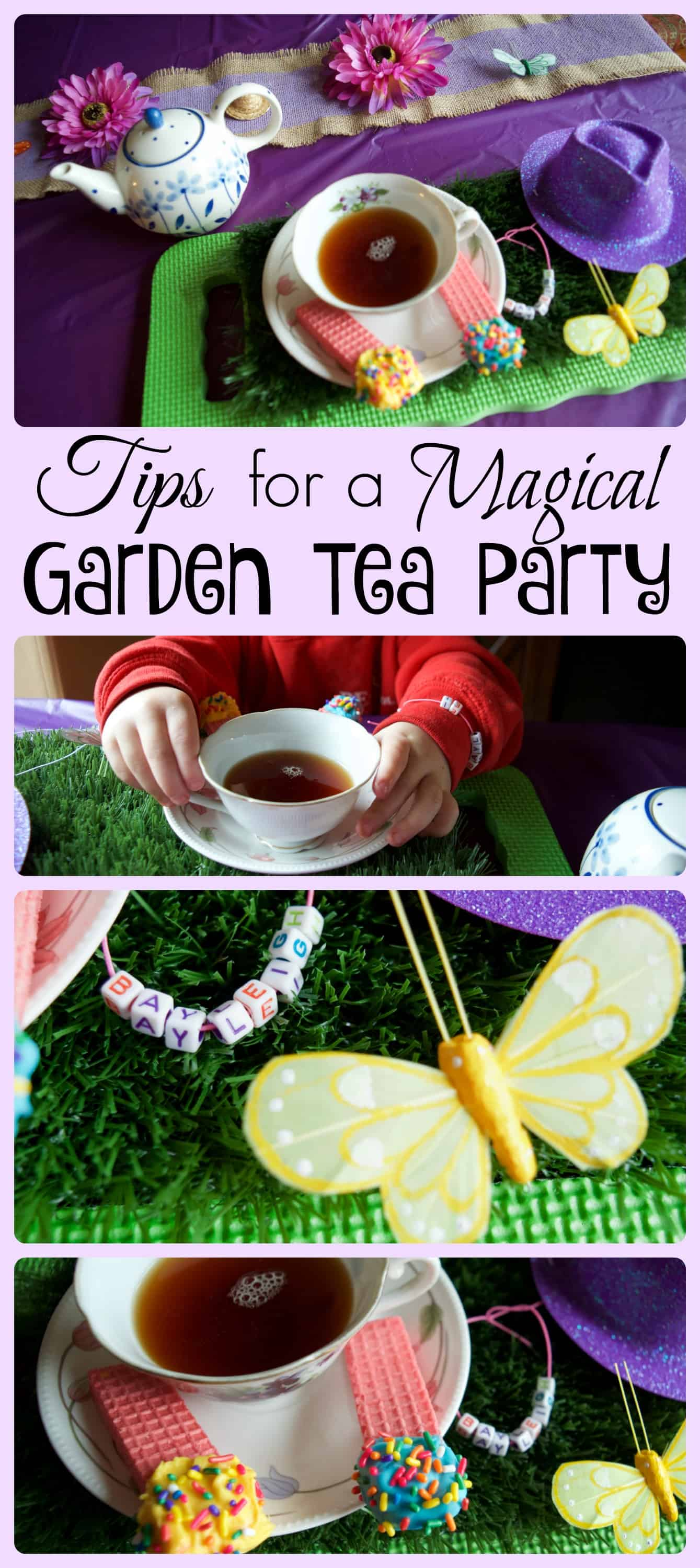 magical garden tea party tea sets