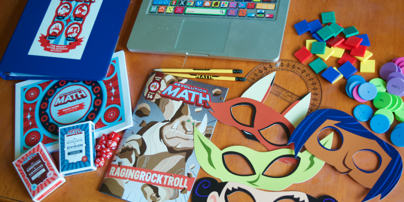 Revolution Math: Story & Game Based Small Class Learning Review