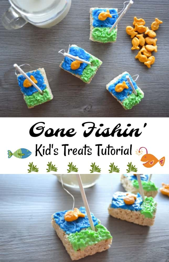 Gone Fishing Kid's Treats Tutorial