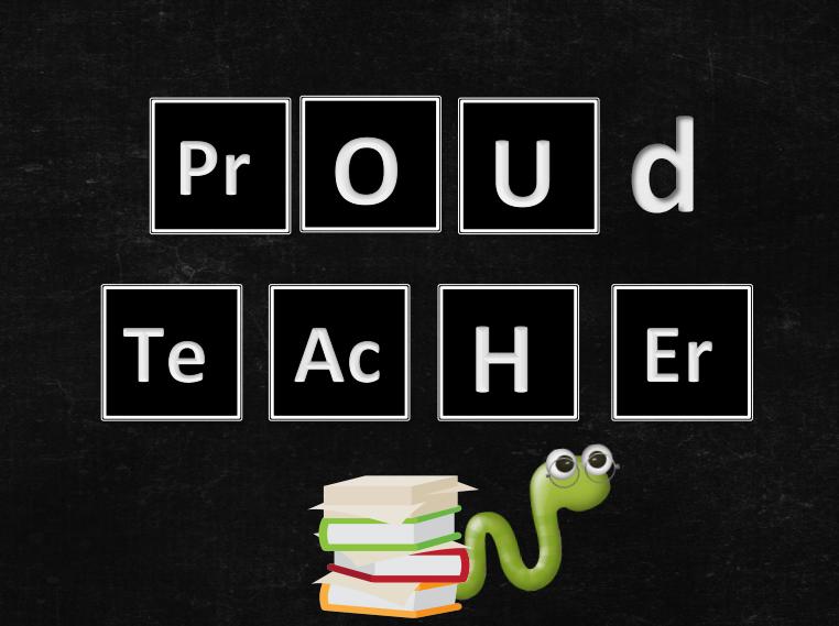Proud Teacher Art PDF