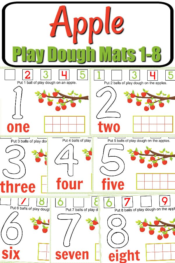 Free Math Printable Writing Numbers 150 Worksheets. Apple Play Dough Mats. Worksheet. Numbers 1 50 Worksheets At Mspartners.co