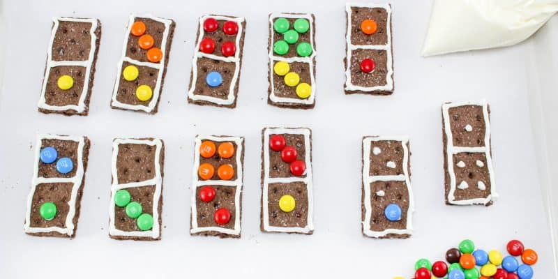 Make Math Fun with Dominoes Graham Crackers Recipe