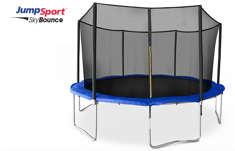 JumpSport Trampoline with Safety Net