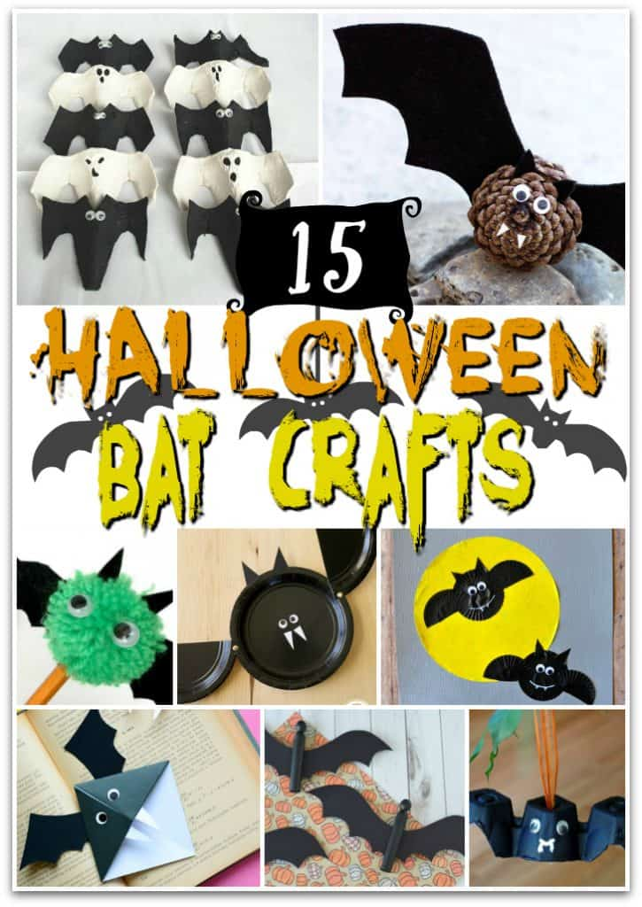 15+ Bat Crafts for Science & Halloween Activities