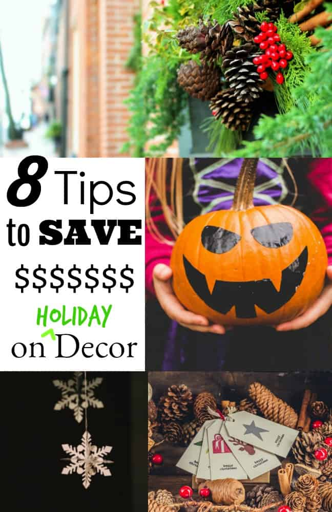 8 Tips to Save Money on Holiday Decor