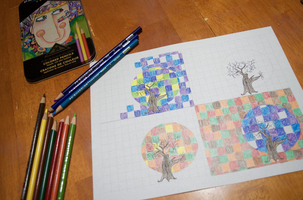 FREE Printable: 4 Seasons Art Observations in Math & Science Lesson