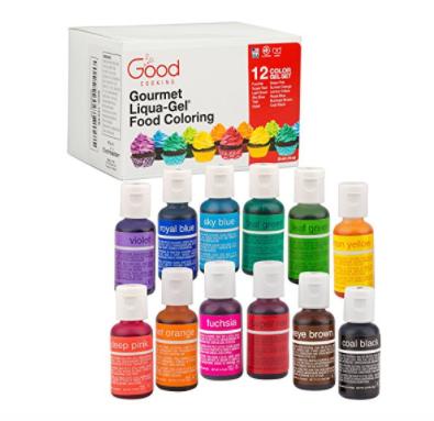 Liquid Food Gel Coloring