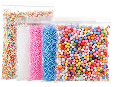 Styrofoam Balls for Slime