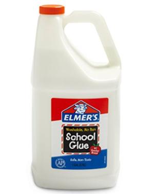 elmer's liquid school glue 1 gallon