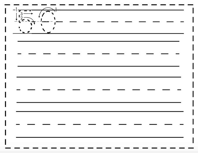 Free Math Printable: Writing Numbers 1-50 Writing Worksheets