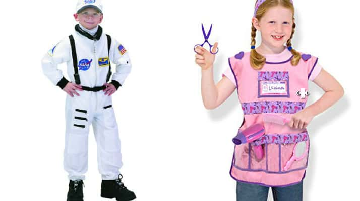 Occupation Kid's Halloween Dress Up Costumes