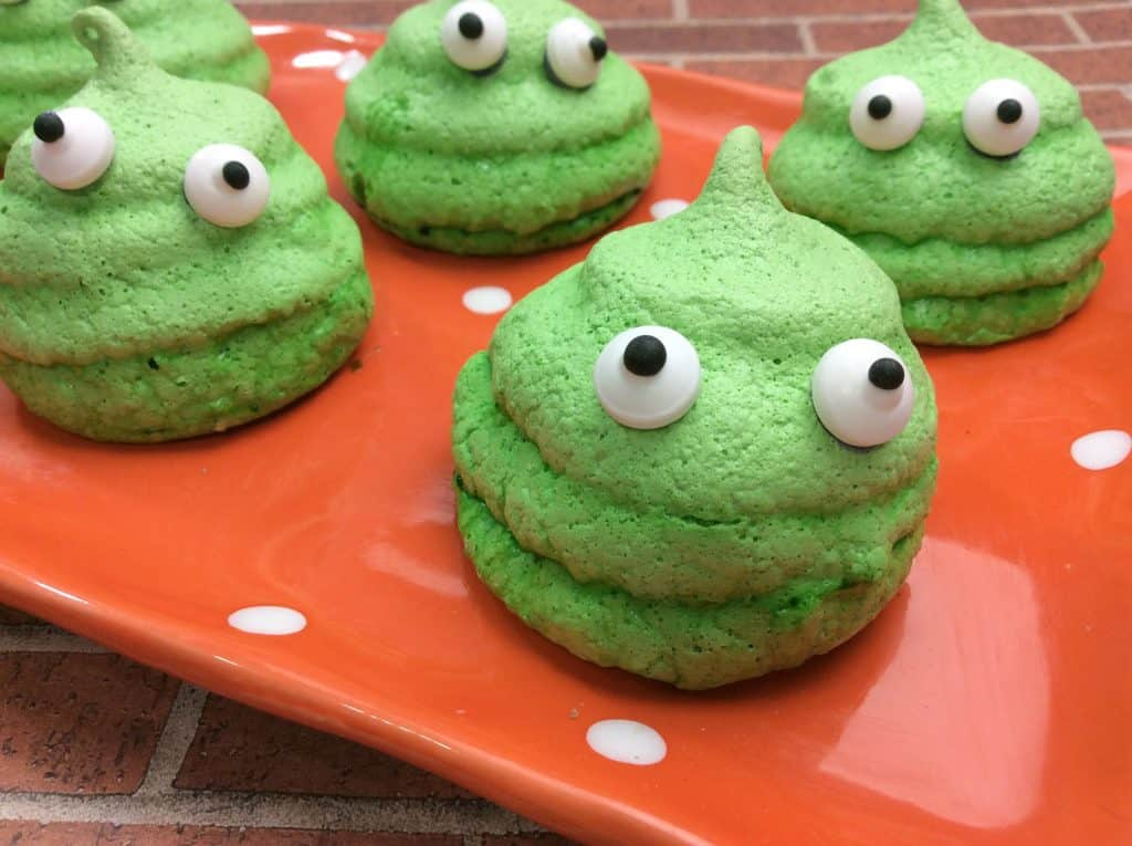 green Slime Cookies Recipe Tutorial for the WIN!