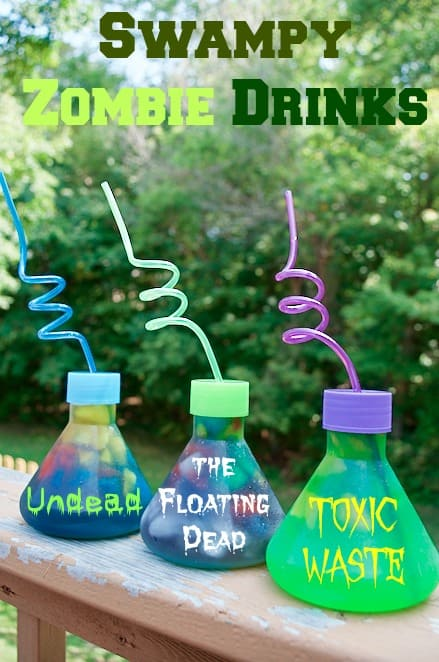Swampy Zombie Toxic Waste Drinks Recipe Idea