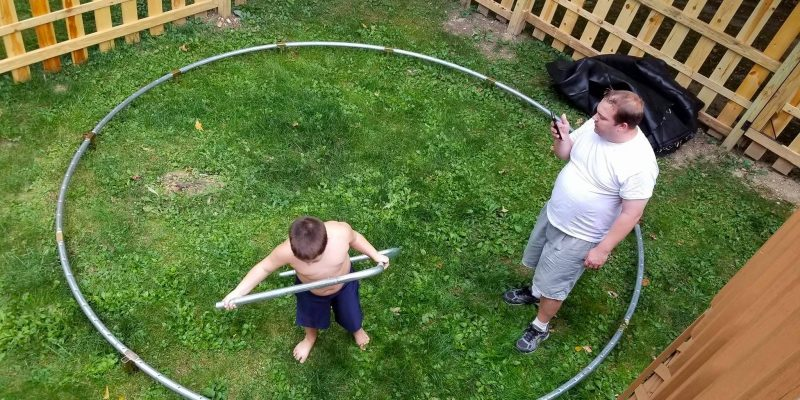 Tips on how to set up your trampoline