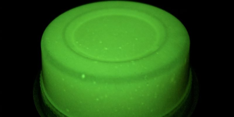 Glow in the Dark Slime Dough Recipe