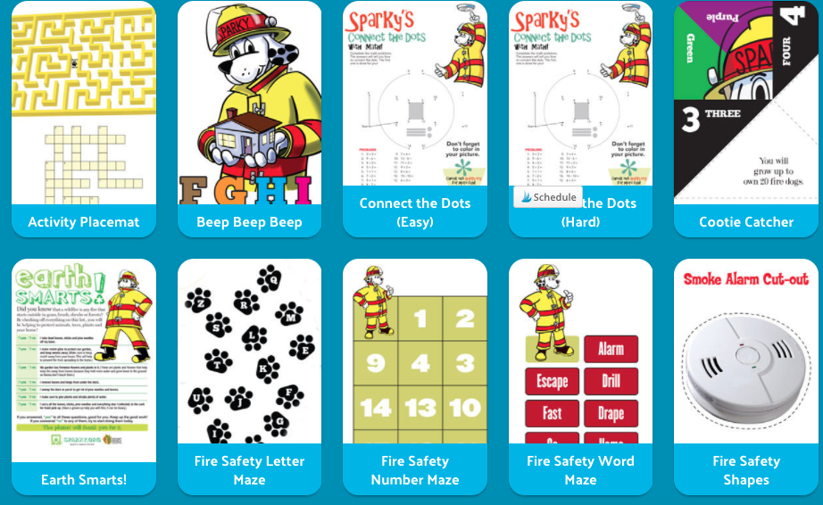 Free Printable Fire Safety Activities and Coloring Pages